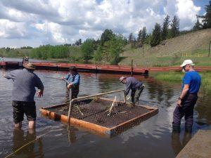 Building Bio-Rafts