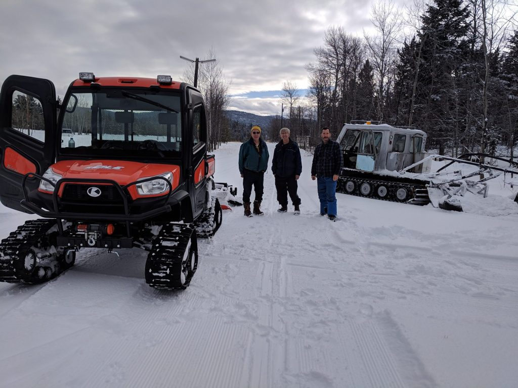 New Kubota February 15 with grooming crew
